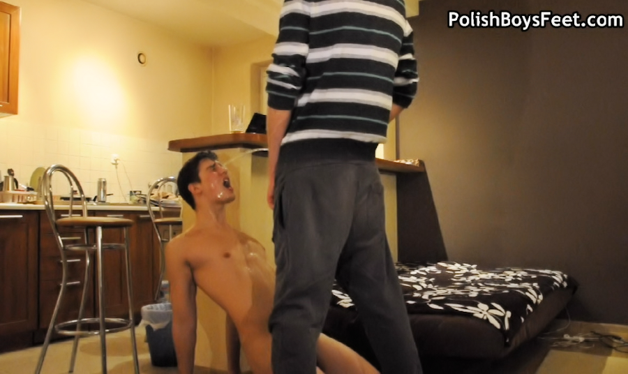Gay Oral Training with Squirting photo
